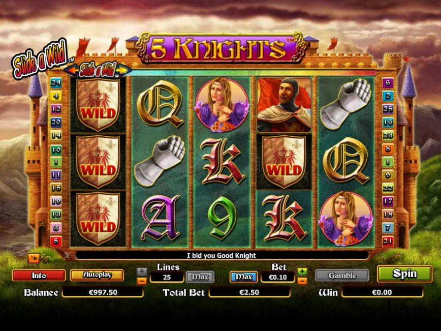 Free spins Fruits Jackpot Knights Days