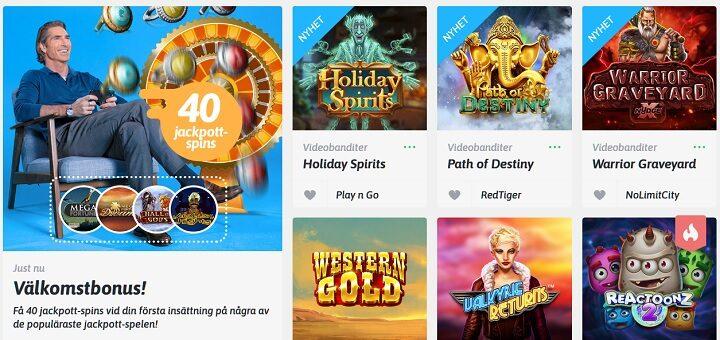 Välj casino bonus Nyheter Unwichtig