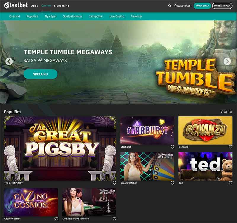 Storspelare com casinospel betting Est