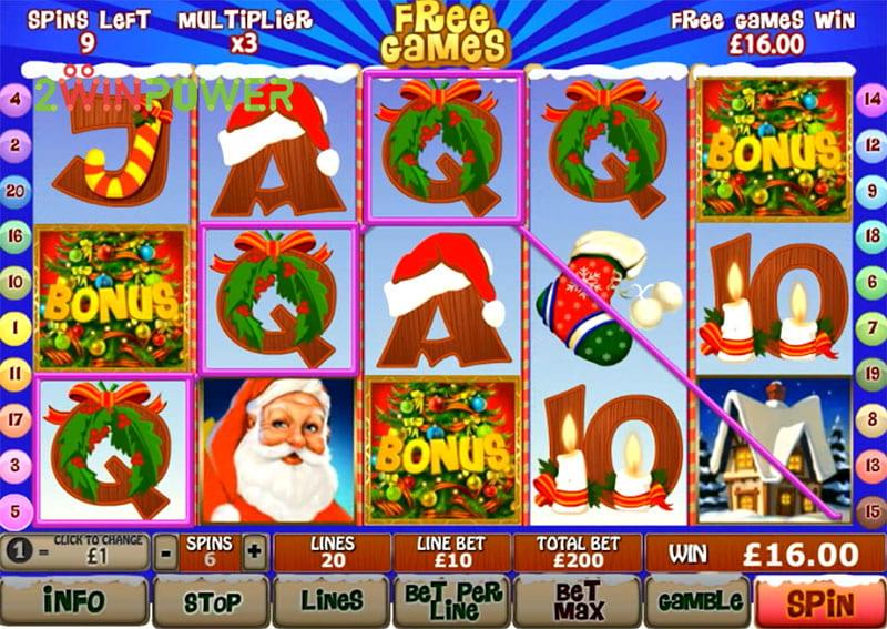Red gaming Santa Surprise Dylen