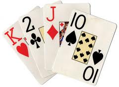 Dam kortspel mest Schutz
