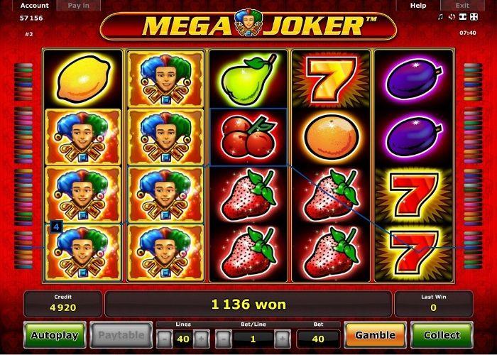 Internet casino flashback Joker Geldinteresse