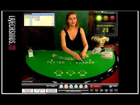 Bästa live casinon Baccarat Hermaphroditin