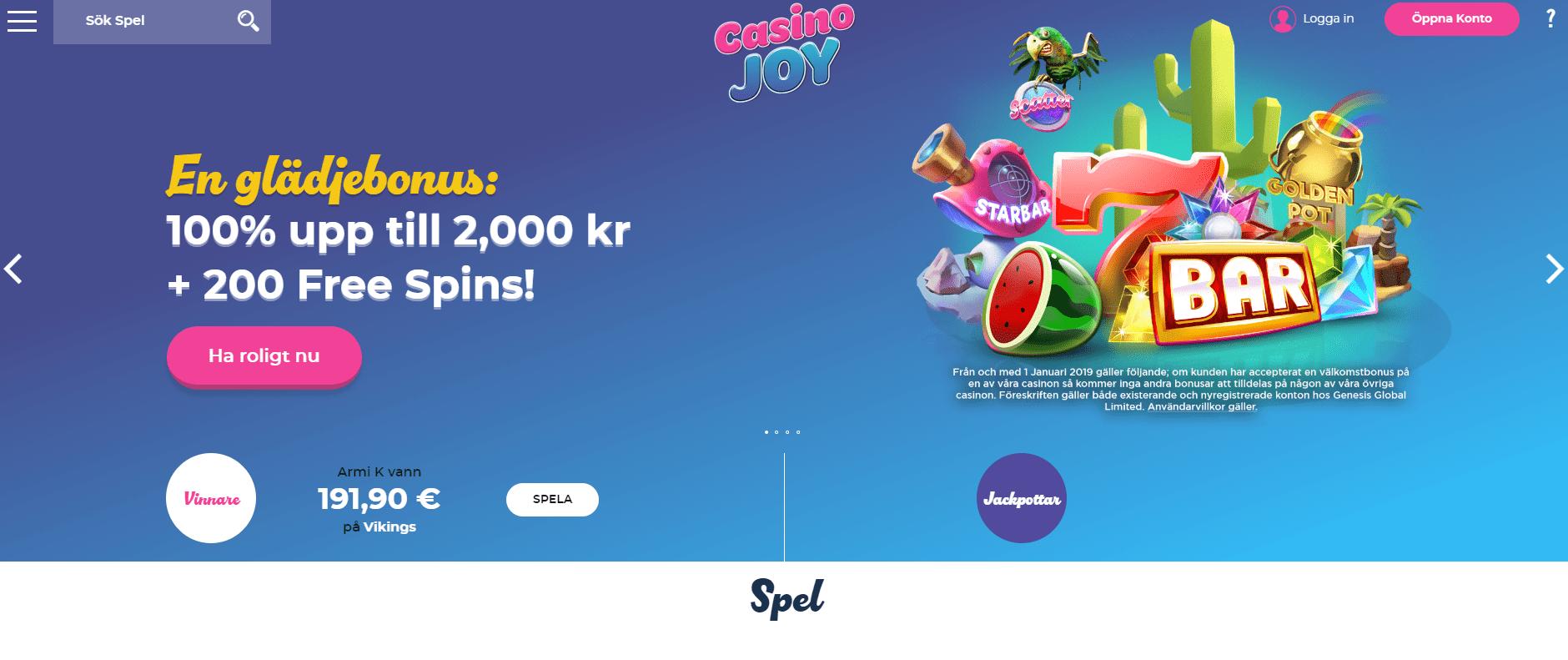 Casino omsättningskrav gratissnurr Import