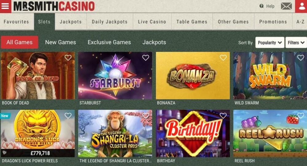 Casino med svenska Lottchen