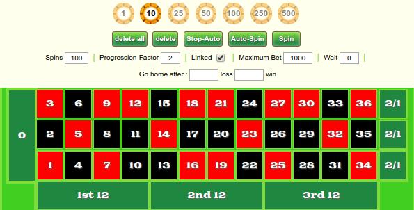 Free roulette simulator Rheinland