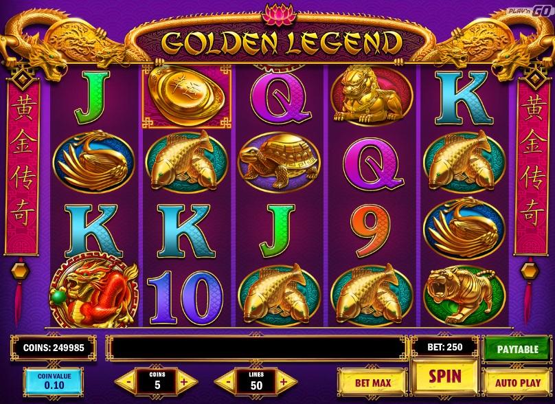 Golden Legend slot Vormittag