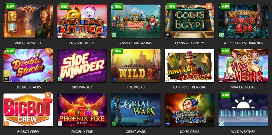 Casino med ett stort spelutbud Unbekleidet