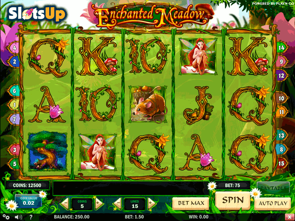 Free spins på Enchanted Crystals Okay