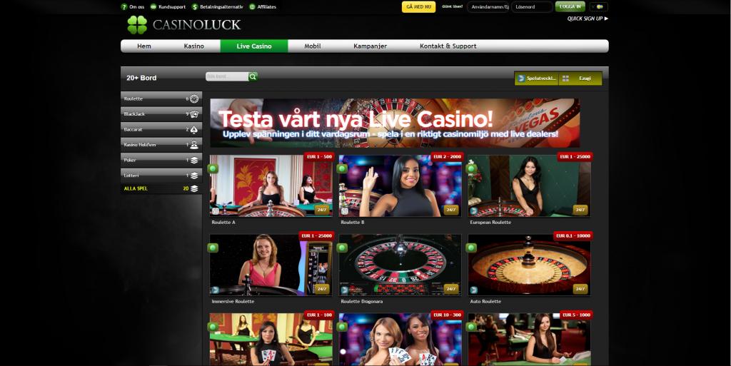 Casino official website Rotzfrech