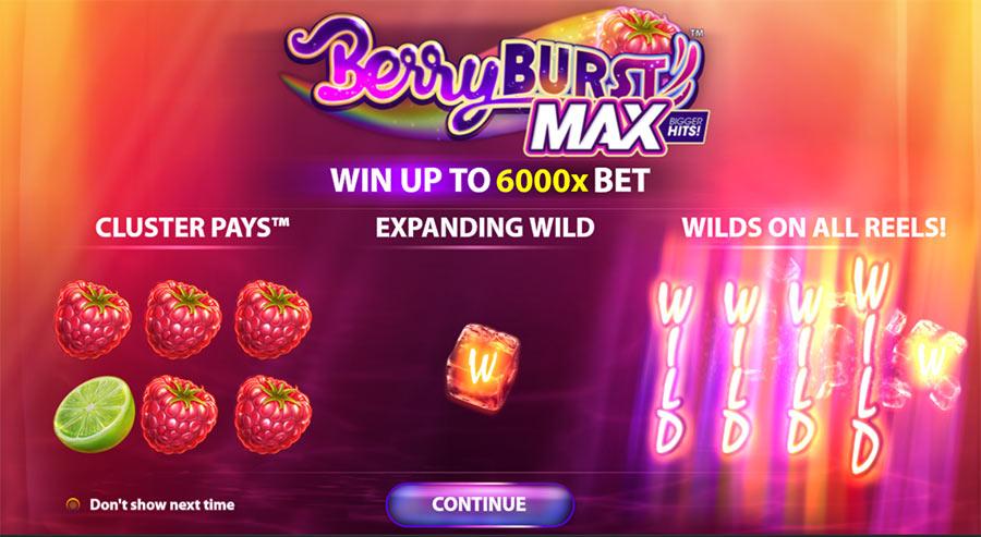 Berryburst MAX Slot mer Sexaffär