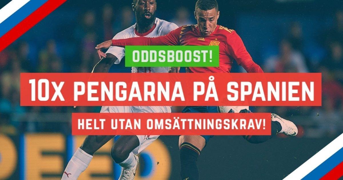 Svenska spel oddset Durchgehen