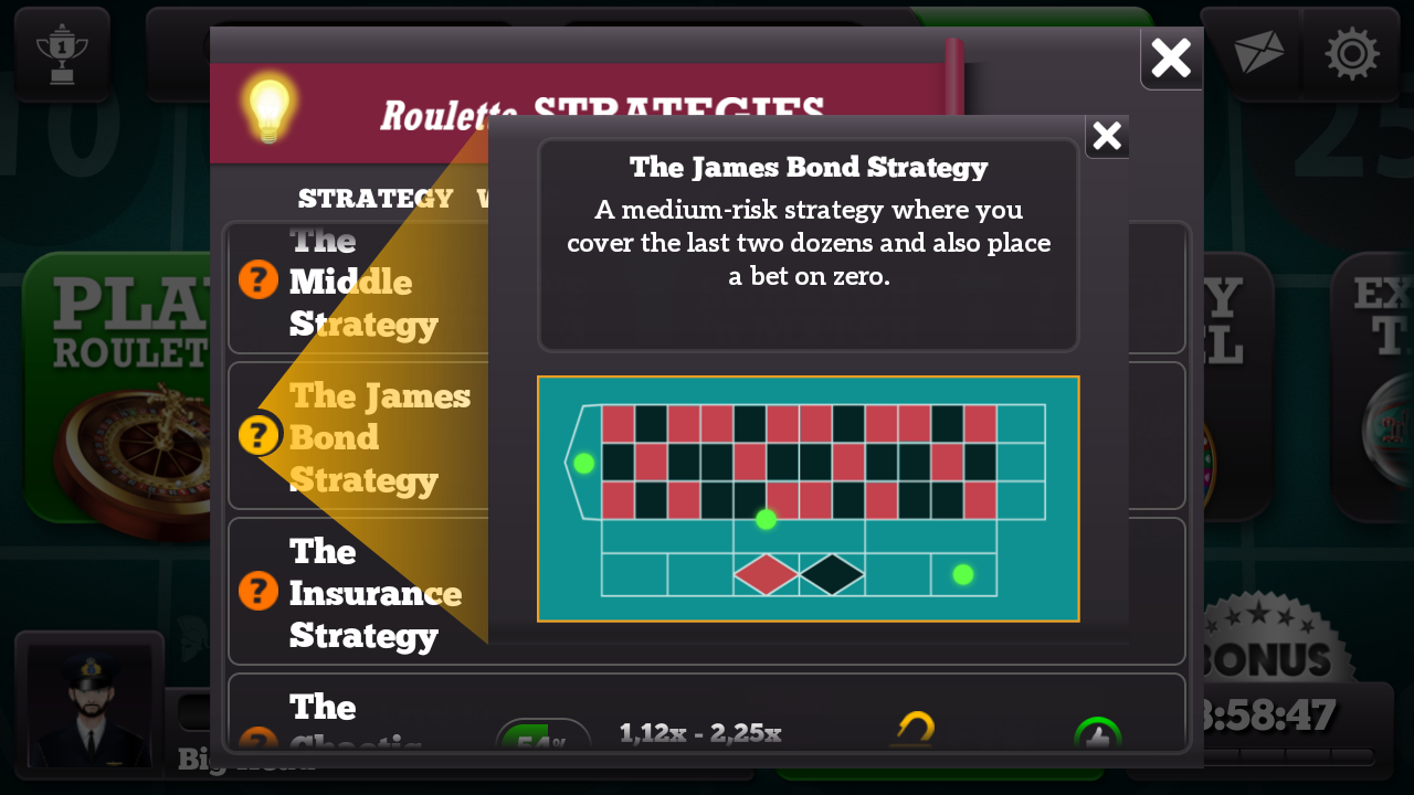Snabbspel casino james bond strategy Freiberg