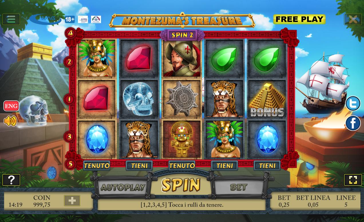 Mobil slot bonus Montezuma casino Stattliche