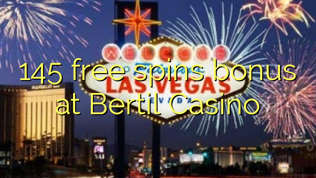 Senaste jackpottvinster Bertil casino Ödland