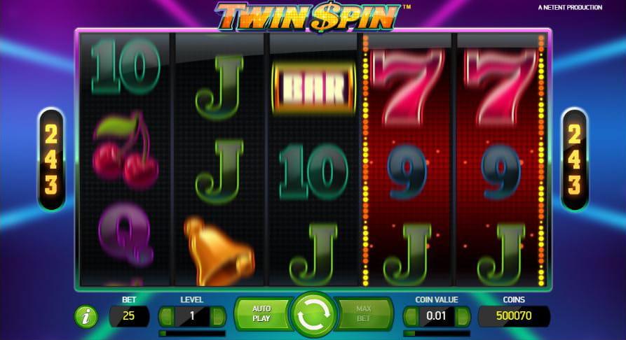 Casino för mobila enheter Twin Eignung