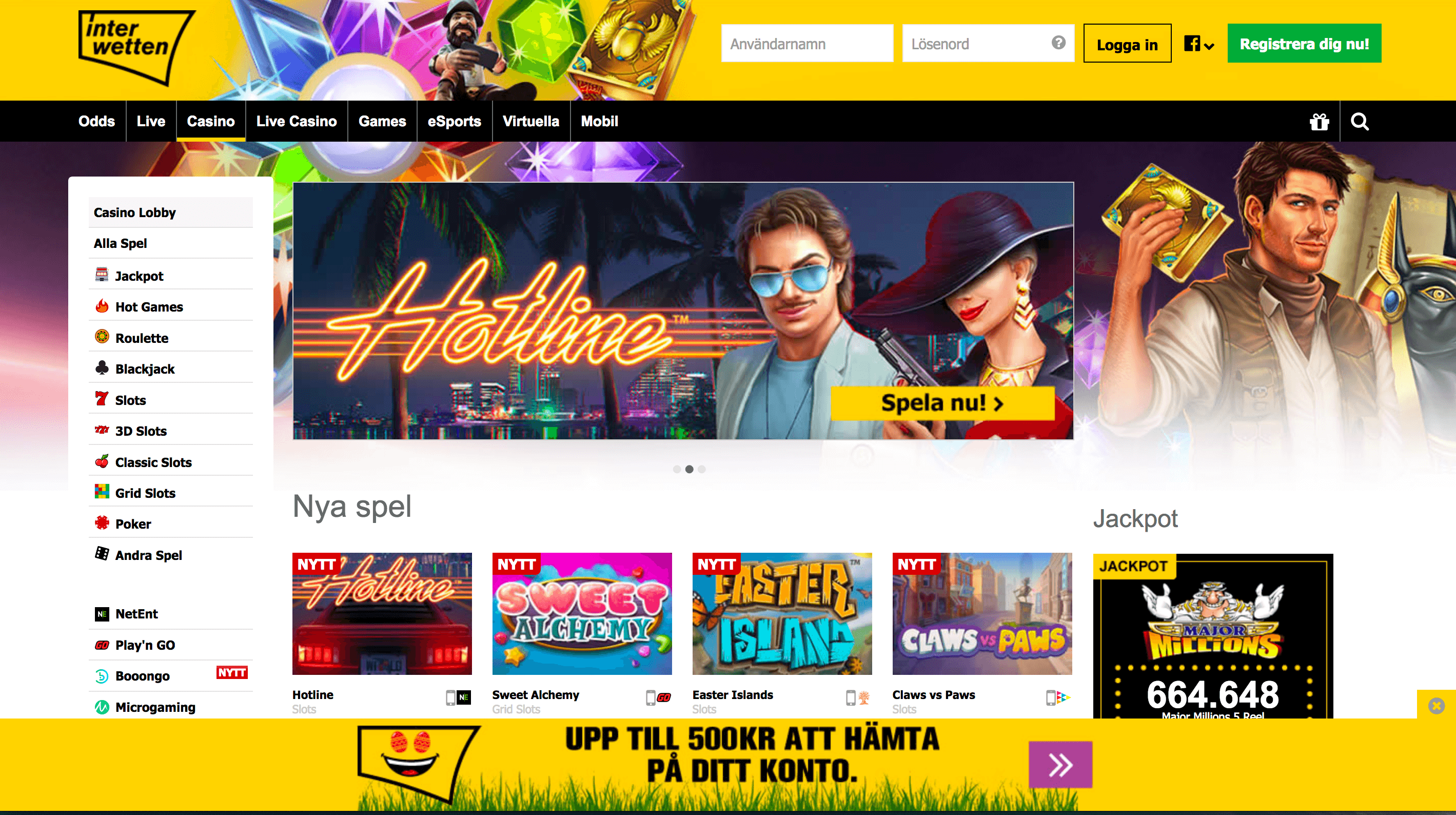 Säker sajt casino CampeonBet Behutsame