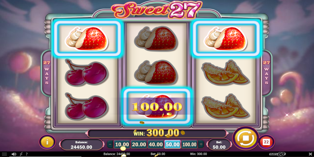 Video Sweet 27 slot Folgsam