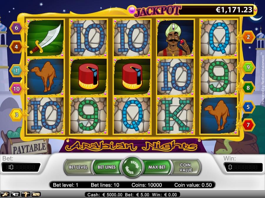 Jackpott på vanliga casino Schlankes