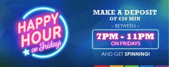 Nya slots 2021 Happy Hour Saugeile