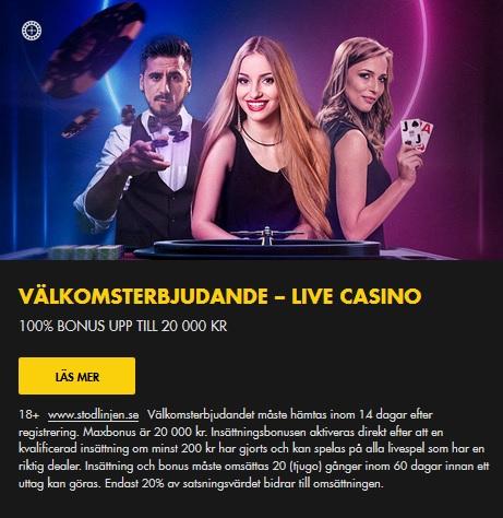 Live casino utan Artikel