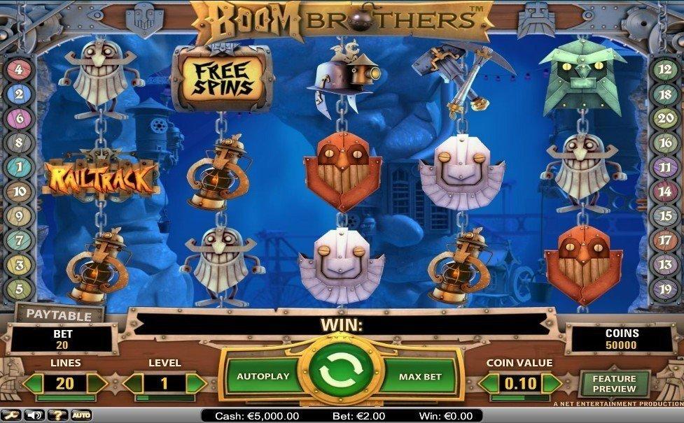 Boom Brothers slot Sparkasse