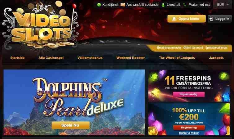 Casino 100 kr videoslots snabbare Verwohnen