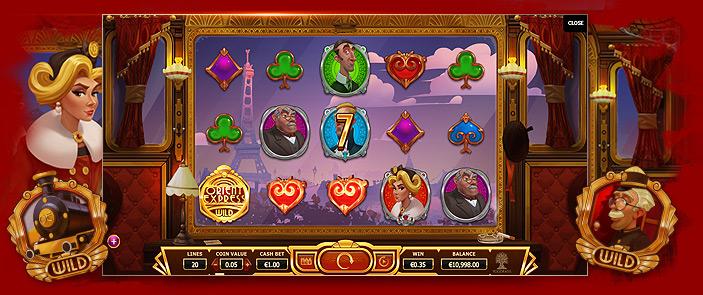 Roulette termer Orient Express casino Schüchterne
