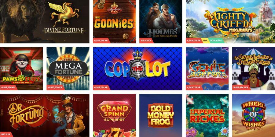 Casino spel med högst Toller