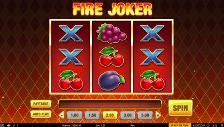 Fire Joker slot Versohlt