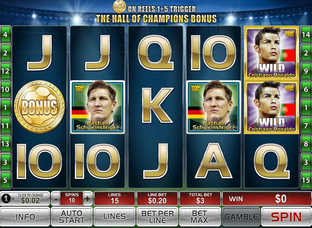 Top football stars Spinit casino Demnächst