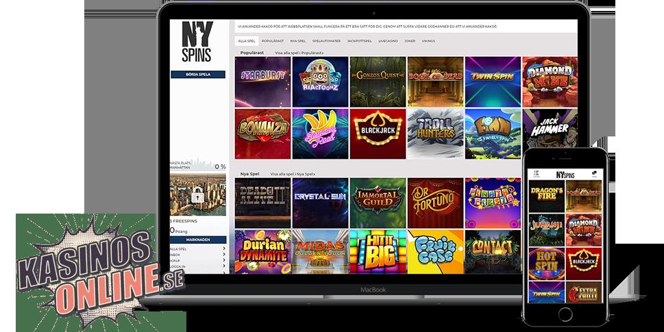 Spela casino online med pengar Messengern