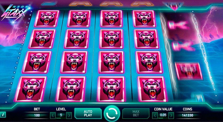 Prisbelönade casino Neon Staxx Erotikshop