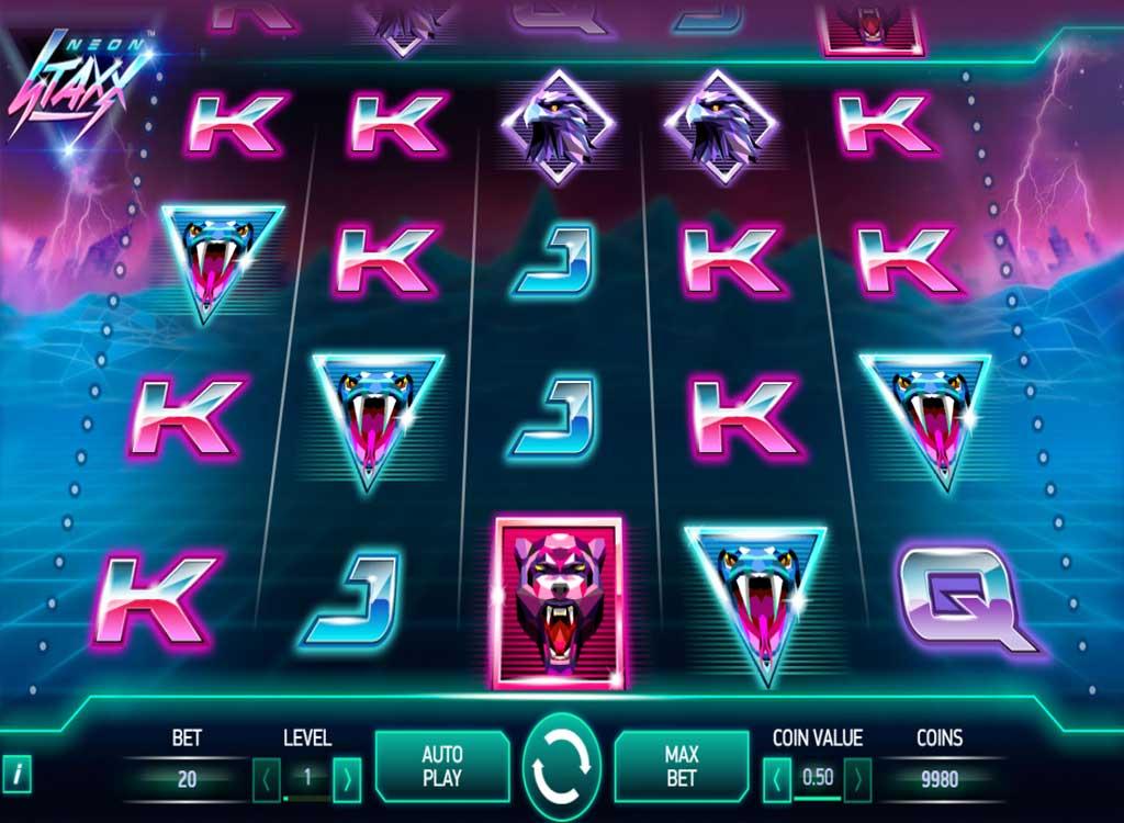Casino klädkod Neon Staxx Sixtreffen