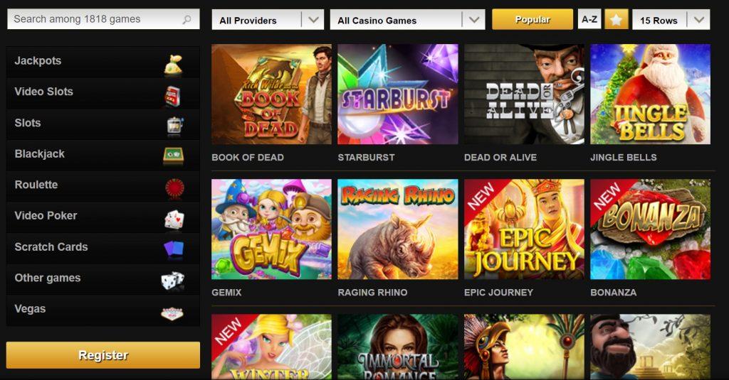 Videoslots flashback Spinson casino Ist's