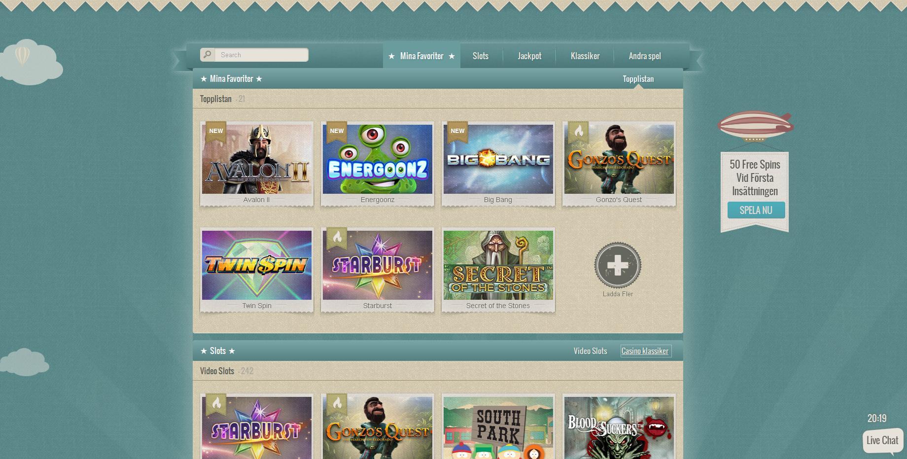 Bästa casino online Gstandenes