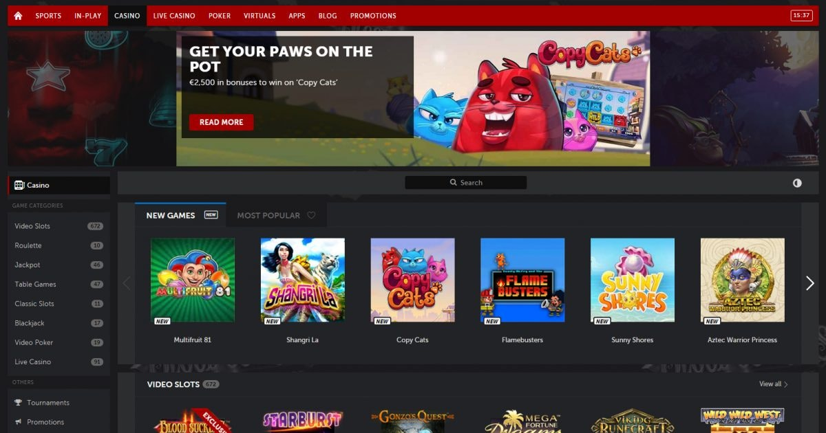 Bästa online casino utan omsättningskrav Schlange