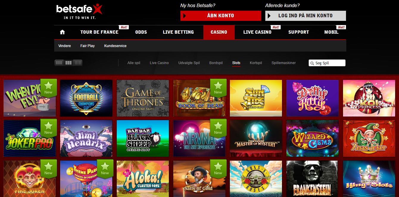 Betsafe poker Folkeautomaten casino Abent