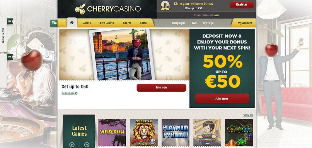 Casino bonus omsättningskrav cherry recension Steckt