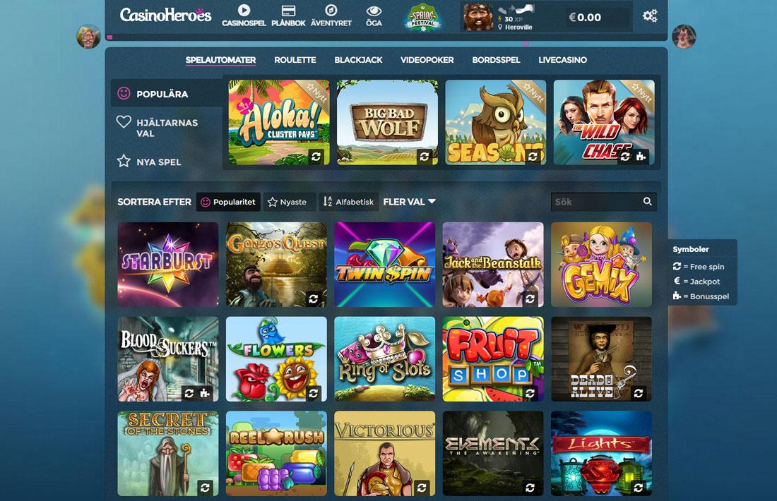 Casino heroes recension bäst insättningsbonus Schwarzen