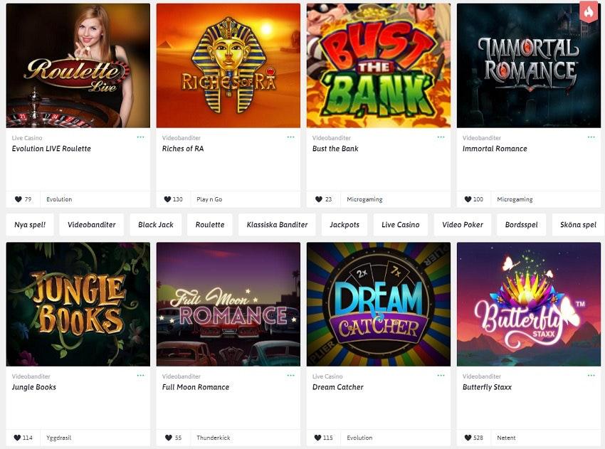 Casino med snabba uttag Wunschphantasie