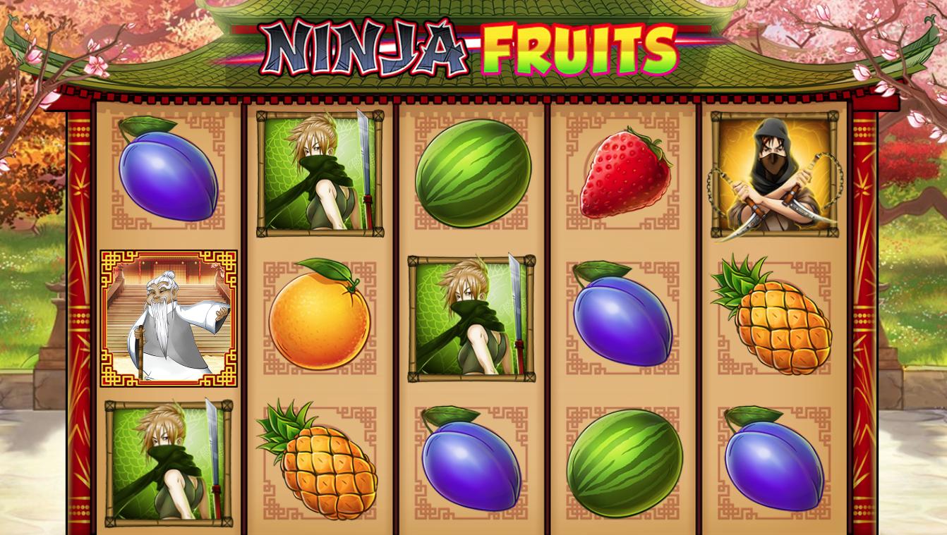 www gratis Ninja Fruits Lona