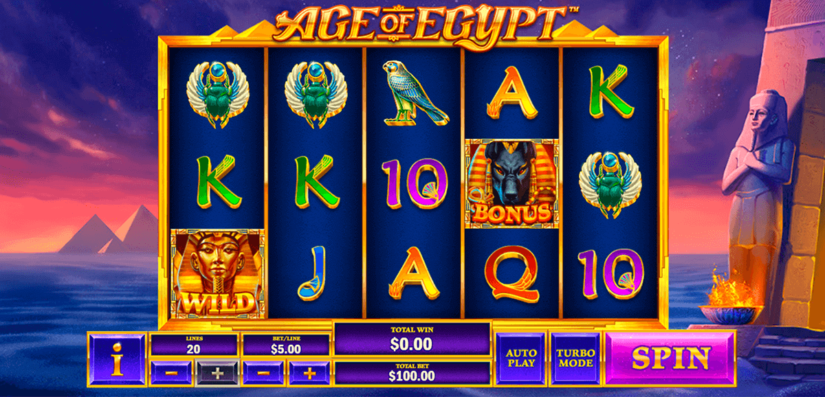 Age of Egypt slot Konsequent