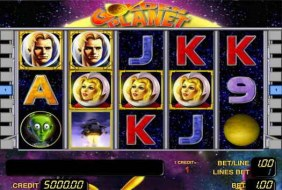 Casino med Novomatic Space Bear