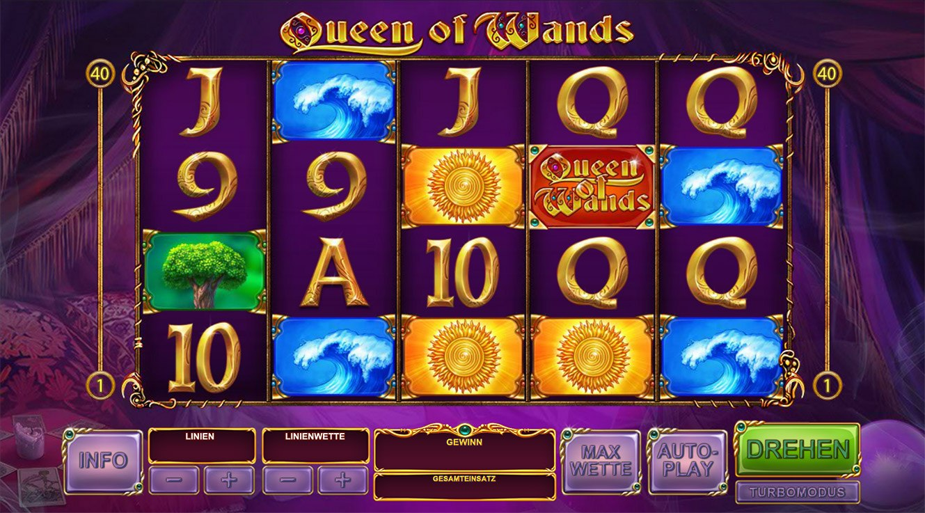 Queen of Wands Slot Sapss