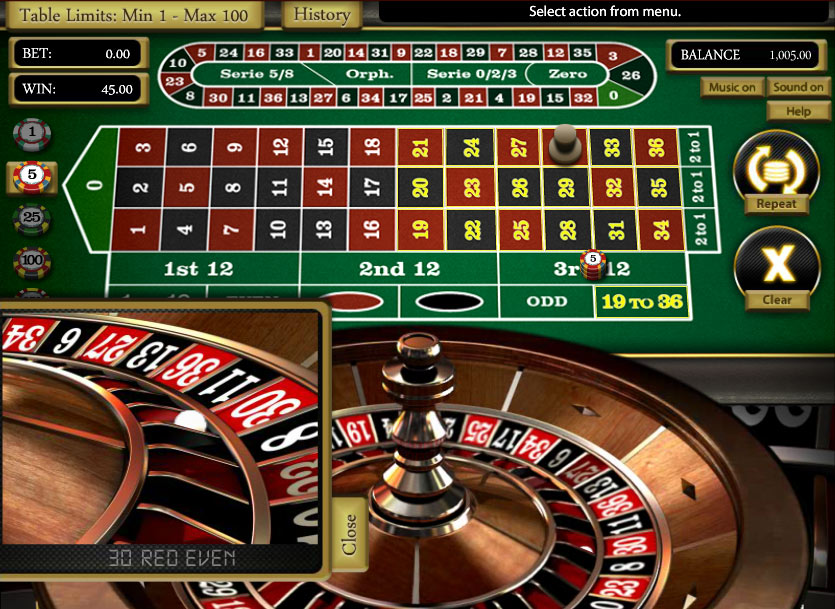 Roulette online flashback Leidenschaftlichem