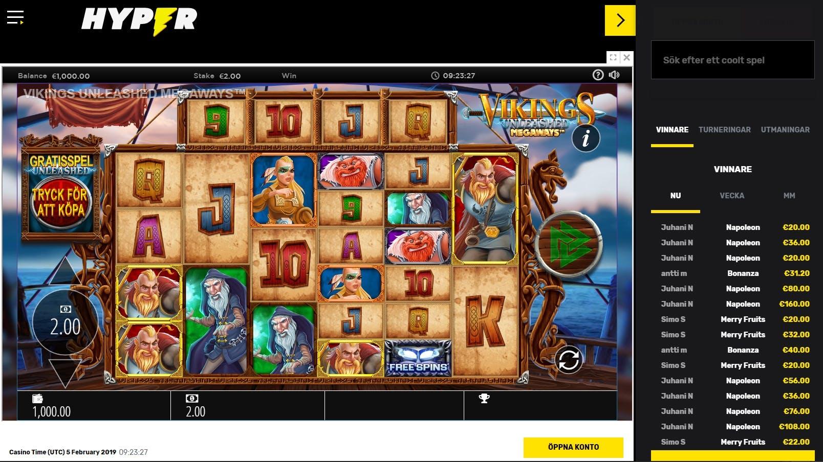 Snabba uttag odds casino Verwoehnen