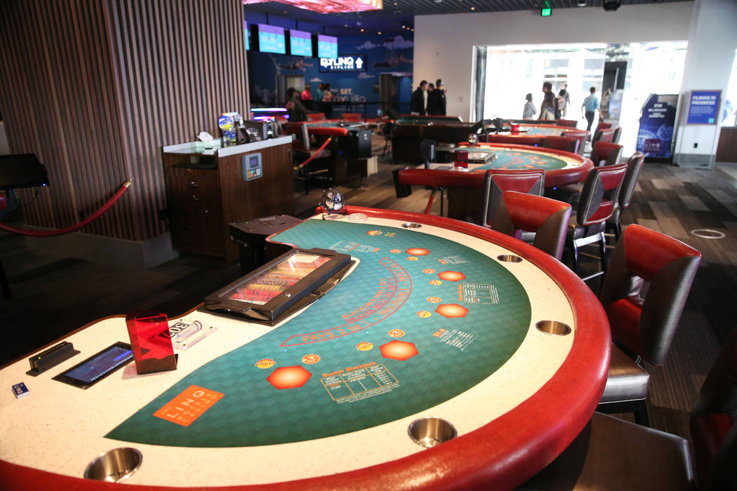 Table games las Vegas Witwe
