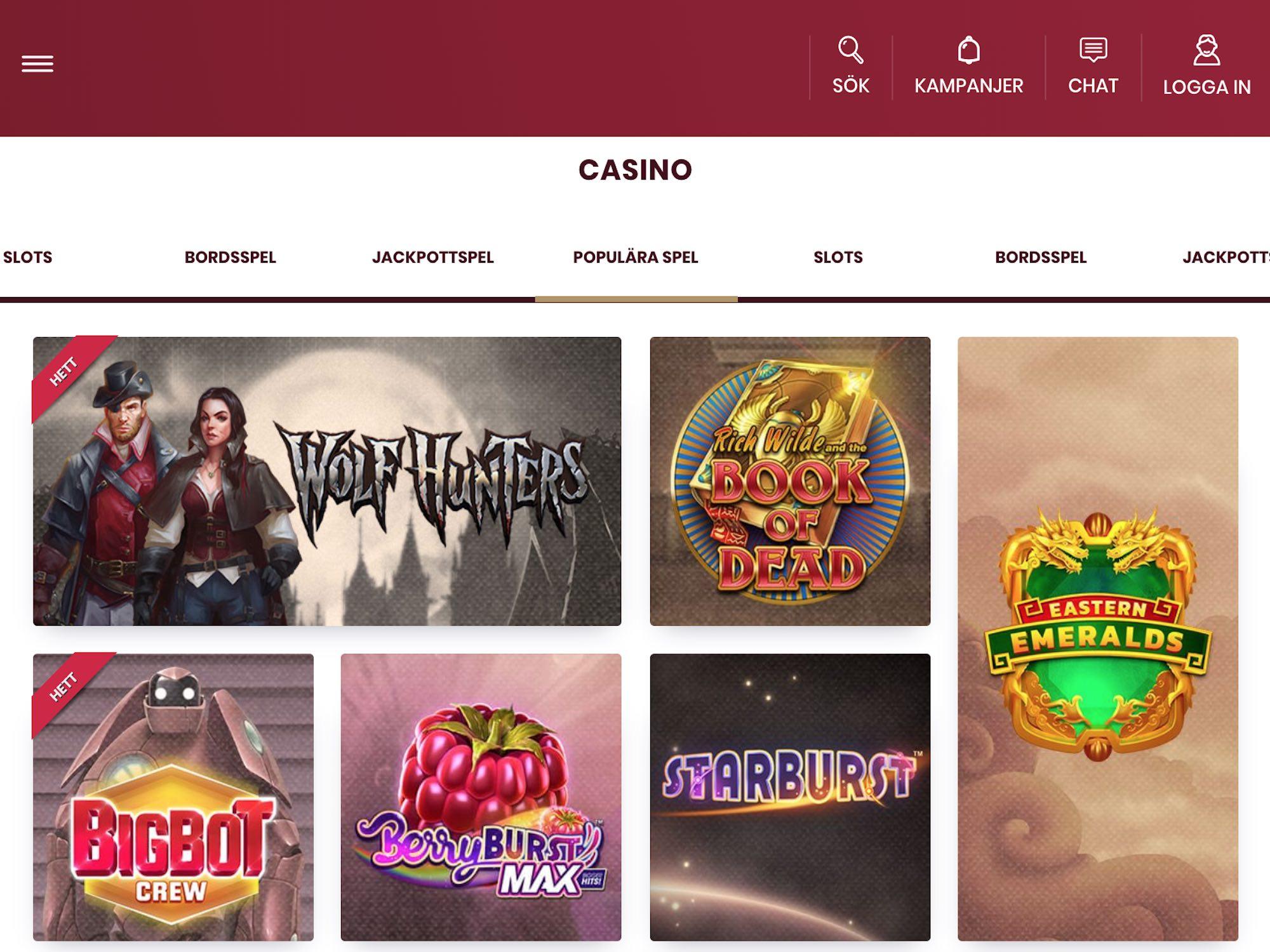 Återbetalning spelbolag cherry casino Powermann