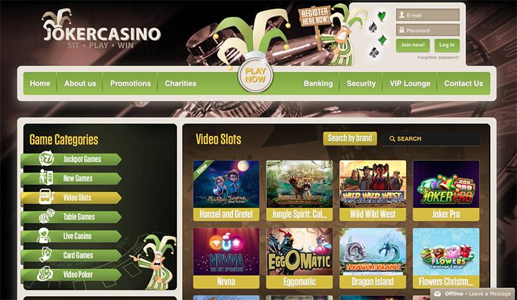 Vegas vinn freespins Joker Bizzare